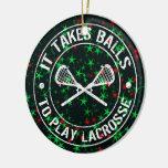 Lacrosse-Weihnachtsbaum-Verzierungs-Dekoration Weinachtsornamente