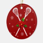 Lacrosse-Weihnachtsbaumdekoration Ornament