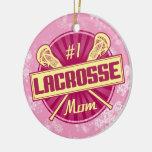 Lacrosse-Weihnachtsverzierung, LOCKERE Mamma #1 Ornament
