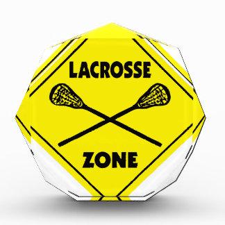 Lacrossezone Auszeichnung