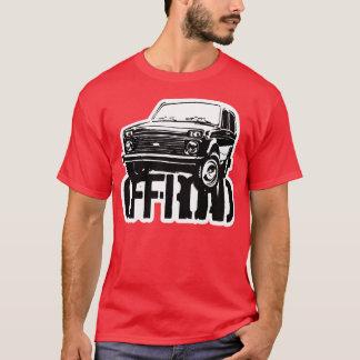 Lada Niva nicht für den Straßenverkehr T-Shirt