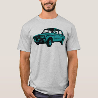 Lada. Russisches Auto T-Shirt