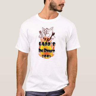 Ladds Schwein-Braten T-Shirt