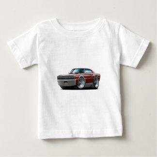 Ladegerät-kastanienbraunes Auto 1966-67 Baby T-shirt