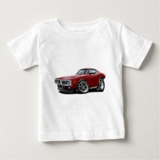Ladegerät-kastanienbraunes Auto 1973-74 Baby T-shirt