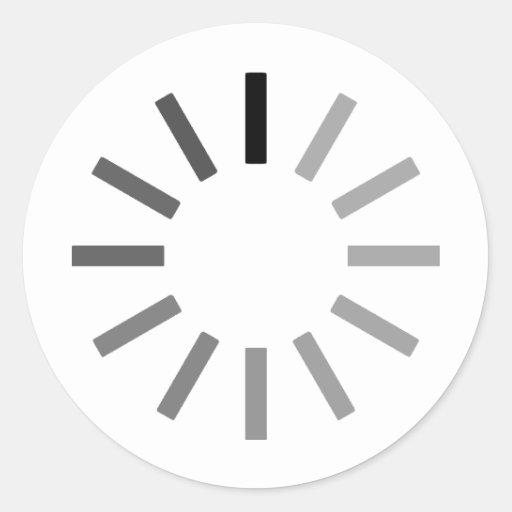 Laden… Runde Sticker