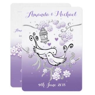 Laden personalisiertes invi Hochzeit der 12,7 X 17,8 Cm Einladungskarte