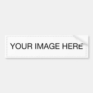 laden Sie Ihr eigenes Bild! Autoaufkleber
