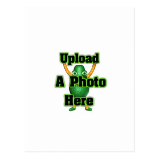 Laden Sie Ihr Foto zu den Schablonenprodukten Postkarte