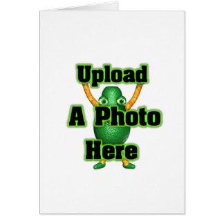 Laden Sie Ihr Foto zur Schablone durch valxart Karte