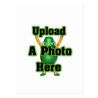 Laden Sie Ihr Foto zur Schablone durch valxart Postkarte