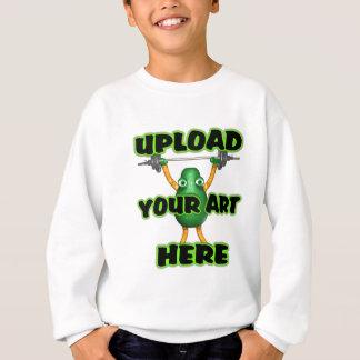 laden Sie Ihre Kunst zu den Vorlagen durch Sweatshirt