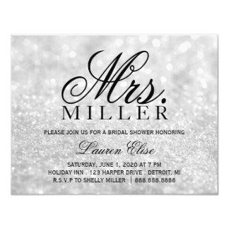 Invite - Lit Fab Mrs. Bridal Shower 2 Silv