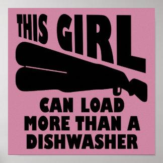 Laden Sie mehr als eine Spülmaschine Poster
