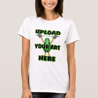 Laden Sie Schablone das T-Shirt Ihrer Kunstfrauen