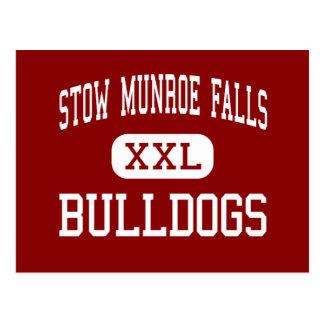 Laderaum Munroe fällt - Bulldoggen - hoch - Postkarte