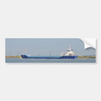 Ladungs-Schiff Zeeland Autoaufkleber