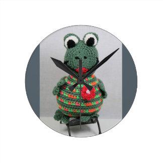 Lady Frog Uhr
