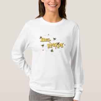 Ladys Biene glücklich T-Shirt