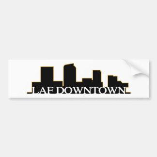 LAF im Stadtzentrum gelegener Denver Autoaufkleber