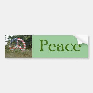 Lafayette-Friedenszeichen Autoaufkleber
