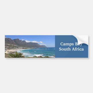 Lager-Bucht-Strand, Südafrika Autoaufkleber