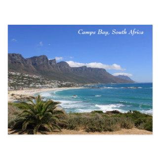 Lager-Bucht-Strand, Südafrika Postkarte