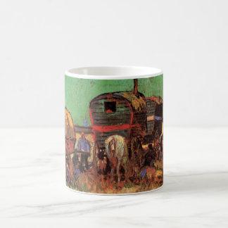 Lager der Sinti und Roma-Wohnwagen durch Vincent Kaffeetasse