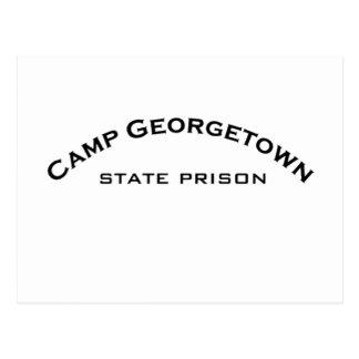 Lager-Georgetown-Staats-Gefängnis-Logo-Postkarten Postkarte