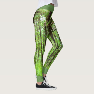 Lager-John-Heu-Kiefer Forest Green Leggings
