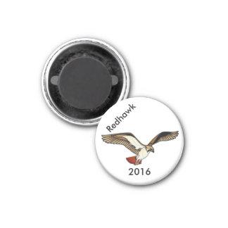 Lager-Mars - Redhawk Magnet 2016 Runder Magnet 2,5 Cm