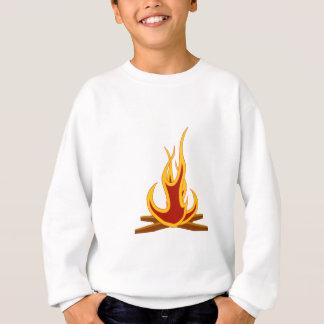 Lagerfeuer haftet n-Feuer Sweatshirt