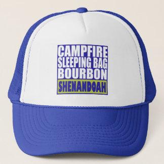 Lagerfeuer-Schlafsack Bourbon Shenandoah Truckerkappe