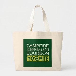 Lagerfeuer-Schlafsack Bourbon Yosemite Jumbo Stoffbeutel