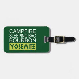 Lagerfeuer-Schlafsack Bourbon Yosemite Kofferanhänger