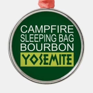 Lagerfeuer-Schlafsack Bourbon Yosemite Silbernes Ornament