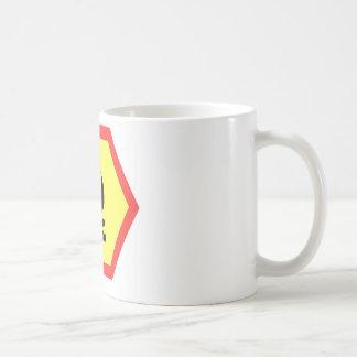 Lagerfeuer-Zeichen Kaffeetasse