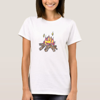 Lagerfeuerbabydoll-T - Shirt
