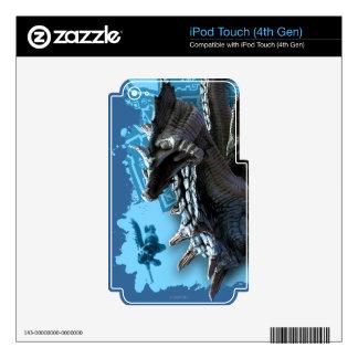 Lagiacrus, das Jäger jagt Schutzfolien Für iPod Touch 4G