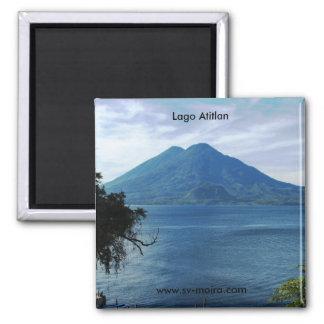 Lago Atitlan Quadratischer Magnet