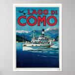 Lago Di Como Plakate