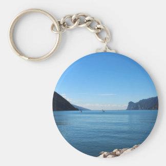 Lago di Garda Standard Runder Schlüsselanhänger
