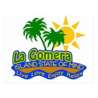 Lagomera-Staat der Sinnespostkarte Postkarte