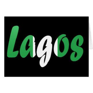 Lagos, Nigeria Karte