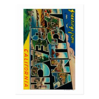 Laguna Beach, Kalifornien - große Buchstabe-Szenen Postkarten