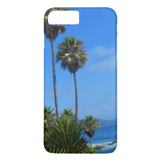 Laguna-Palme-und Ozean-Glück iPhone 8 Plus/7 Plus Hülle