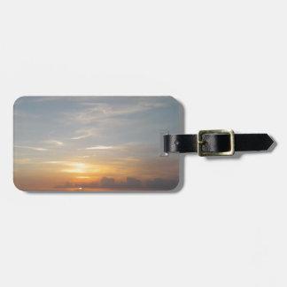 Laguna-Sonnenuntergangsmog Gepäckanhänger
