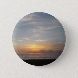 Laguna-Sonnenuntergangsmog Runder Button 5,7 Cm