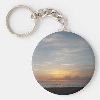 Laguna-Sonnenuntergangsmog Schlüsselanhänger