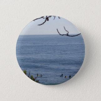 Laguna-Strandbrandung Runder Button 5,1 Cm